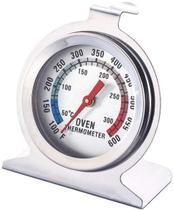 Termômetro para Forno e Churrasqueira Profissional Aço Inox - Clink