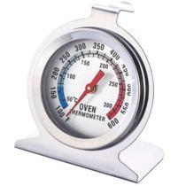 Termômetro para Forno e Churrasqueira Profissional Aço Inox - Jfz