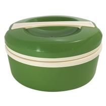 Termoprato 1,5 Litros Marmita Prato Térmico Alça Microondas Verde - Zanline