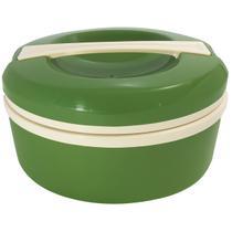 Termoprato 1,5l Marmita Prato Duplo Térmico Alça Microondas Verde - Zanline