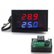 Termostato Display para Controle de Temperatura W1209 - Casa Da Robótica