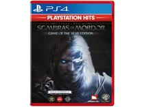 Terra-Média Sombras de Mordor GOTY para PS4 - Monolith Playstation Hits
