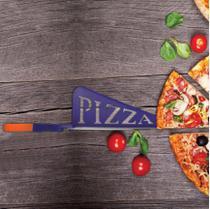Tesoura Espátula Corta Pizza Super Original - Pk01