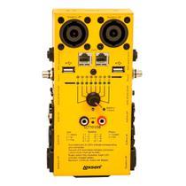 Testador de cabos - LCT10 USB - Lexsen -