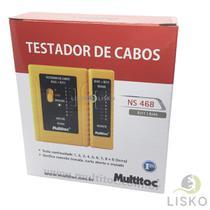 Testador De Cabos Ns 468 Rj11 + Rj45 - Multitoc
