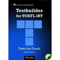 Testbuilder For Toefl IBT - With Audio CD - with Key - Macmillan elt - sbs