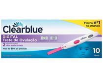 Teste de Ovulação Clearblue - Digital