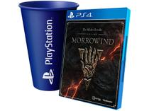 The Elder Scrolls Online: Morrowind para PS4 - Zenimax + Copo PlayStation Azul