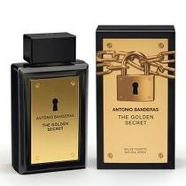 The Golden Secret Antonio Banderas - Perfume Masculino - Eau de Toilette - Antonio Banderas