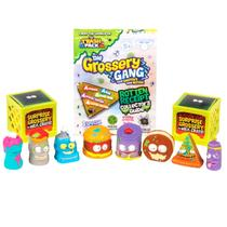 The Grossery Gang DTC Corny Chips Rod Hot Chilli e Stink Cheese 10 Mini Figuras 3895 -