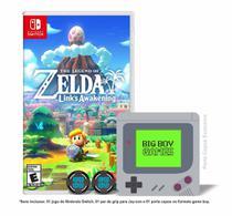 The Legend of Zelda: Link's Awakening + Caps Grip para Joy-Con & Porta Copos - Switch - Nintendo