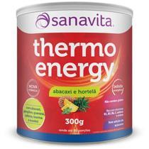 Thermo Energy Termogênico Sanavita 300g Abacaxi com Hortelã -