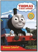 Thomas e seus amigos - colecao vamos colorir! - in - Dcl