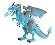Thorn - Dragão Sopro De Gelo Animal de Brinquedo DG051 - Polibrinq