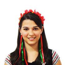 Tiara Festa Italiana Vermelha e Verde - Festabox