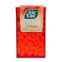 Tic tac 100 sabor laranja 49gr -
