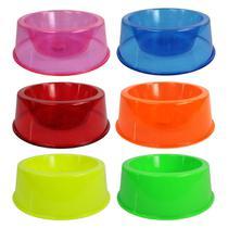Tigelas Sortidas de Ração Água 1L Cães Cachorro - 6 Unidades - Pet Toys