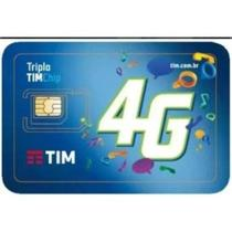 Tim Chip Infinity HDR Duplo 4G -