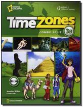 Time Zones 3 - Combo B + Multirom - Cengage -