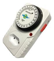 Timer Analógico Temporizador Bivolt Programável Liga/Desliga - Brasfort