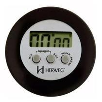 Timer digital herweg temporizador cozinha mestre cuca cronometro regresssivo chef com alarme ima gel -