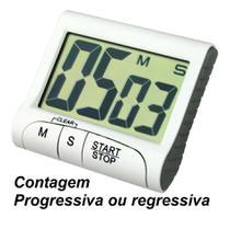 Timer Digital Temporizador Cronômetro Cozinha Imã Regressivo - Jiaxi