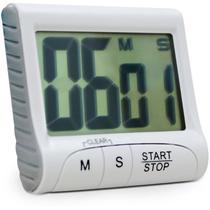 Timer e cornometro digital com imã contagem progressiva e regressiva - Incoterm