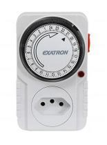 Timer Temporizador Analógico Bivolt Liga Desliga Automático - Exatron