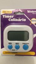 Timer Temporizador Culinário Chef Cronometro Regressivo - Western