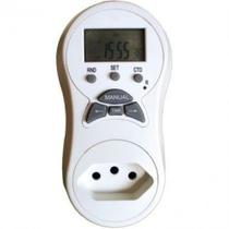 Timer temporizador digital de tomada bivolt key west 140 programacoes 2000w - Dni key west