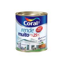 Tinta Acrílica Coral Rende Muito Fosco 900ml -