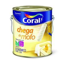Tinta Acrilica Fosca Branco Chega De Mofo 3,6L - Coral -