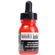 Tinta Acrilica Liquitex Ink   030 ml Red Orange 4260620 -