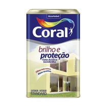 Tinta Acrilico Semi Brilhante Branco 18L - Coral -