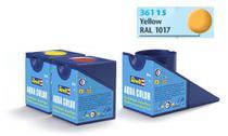 Tinta Aqua Color Amarelo Fosco 18ml para Modelismo - Revell -