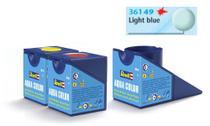 Tinta Aqua Color Azul Claro Fosco 18ml para Modelismo - Revell -