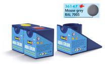 Tinta Aqua Color Cinza Rato Fosco 18ml para Modelismo - Revell -