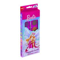 Tinta Aquarela Pastilha Barbie 12 Cores - Staedtler