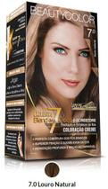 Tinta beautycolor kit 7.0 louro natural - Beauty color