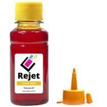 Tinta Compatível HP 46 2529 4729 Yellow 100ML Corante - Rejet