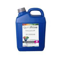 Tinta Compatível para Recarga HP 22 C9352A Impressora F4180 J3680 F380 1410 Corante Magenta de 5L - - Toner Vale