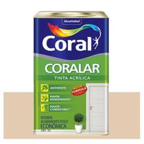 Tinta Coral Coralar Econômica acrílica fosca areia 18L -