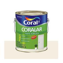 Tinta Coral Coralar Econômica acrílica fosca branco 3,6L -