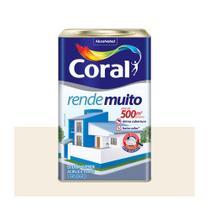 Tinta Coral Rende Muito Acrílica Fosca Branco 18L. -