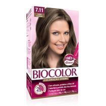 Tinta de Cabelo Biocolor Biocolor Louro Glamour 7.11 -