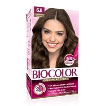 Tinta de Cabelo Biocolor Louro Escuro Clássico 6.0 -