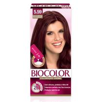 Tinta de Cabelo Biocolor Mini Kit Acaju Púrpura 5.59 -