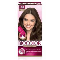 Tinta de Cabelo Biocolor Mini Kit Louro Escuro Clássico 6.0 -