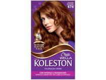 Tinta de Cabelo Koleston Chocolate Acobreado - 674