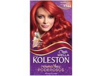 Tinta de Cabelo Koleston  - Vermelho Super Intenso 7744 -